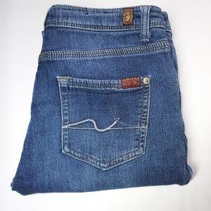7FAM  Womens Slimmy Jeans
